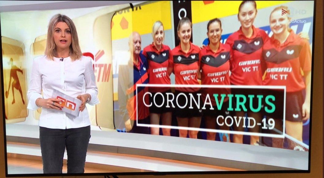 Ruth Gumbau presentant un TN de TV3