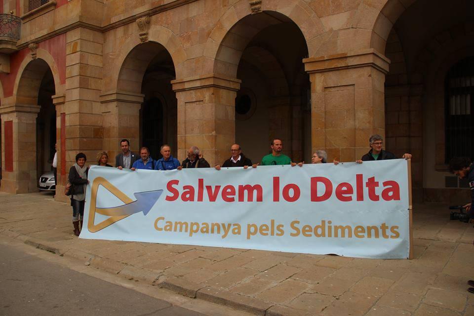 campanya sediments delta parlament