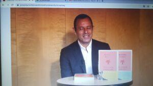 Sandro Rosell, en la roda de premsa virtual per presentar 'Una forta a