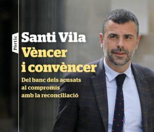 Portada del nou llibre de Santi Vila