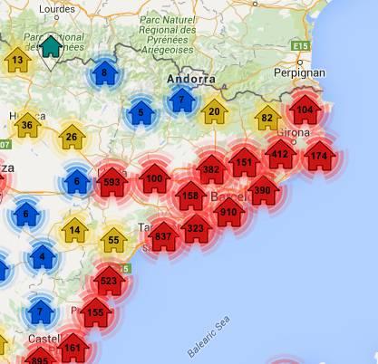 mapa sareb