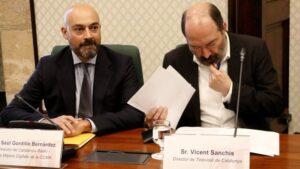 Saül Gordillo i Vicent Sanchis