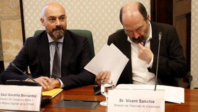 Saül Gordillo y Vicent Sanchis