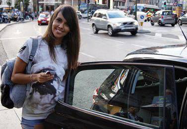 Cristina Pedroche y Uber