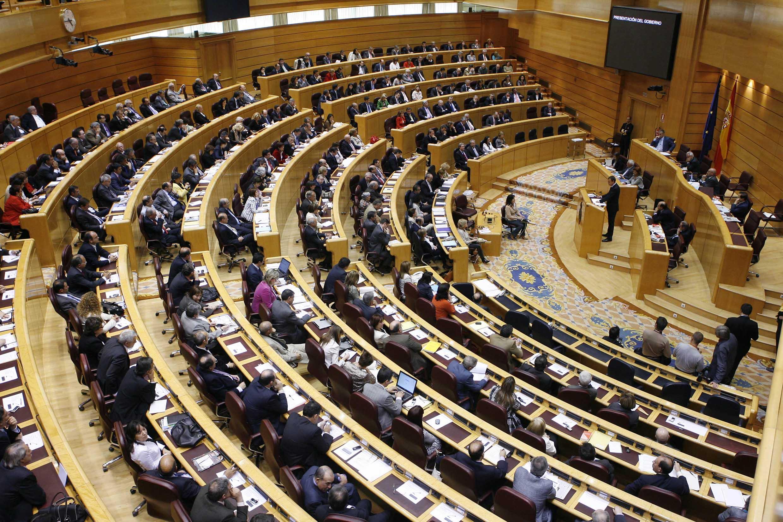 Reunió plenària del Senat