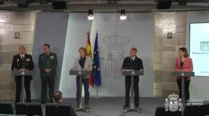 Fernando Simón y los otros responsables técnicos de los ministerios que