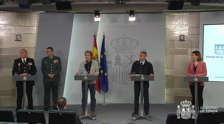 Fernando Simón i els altres responsables tècnics dels ministeris que