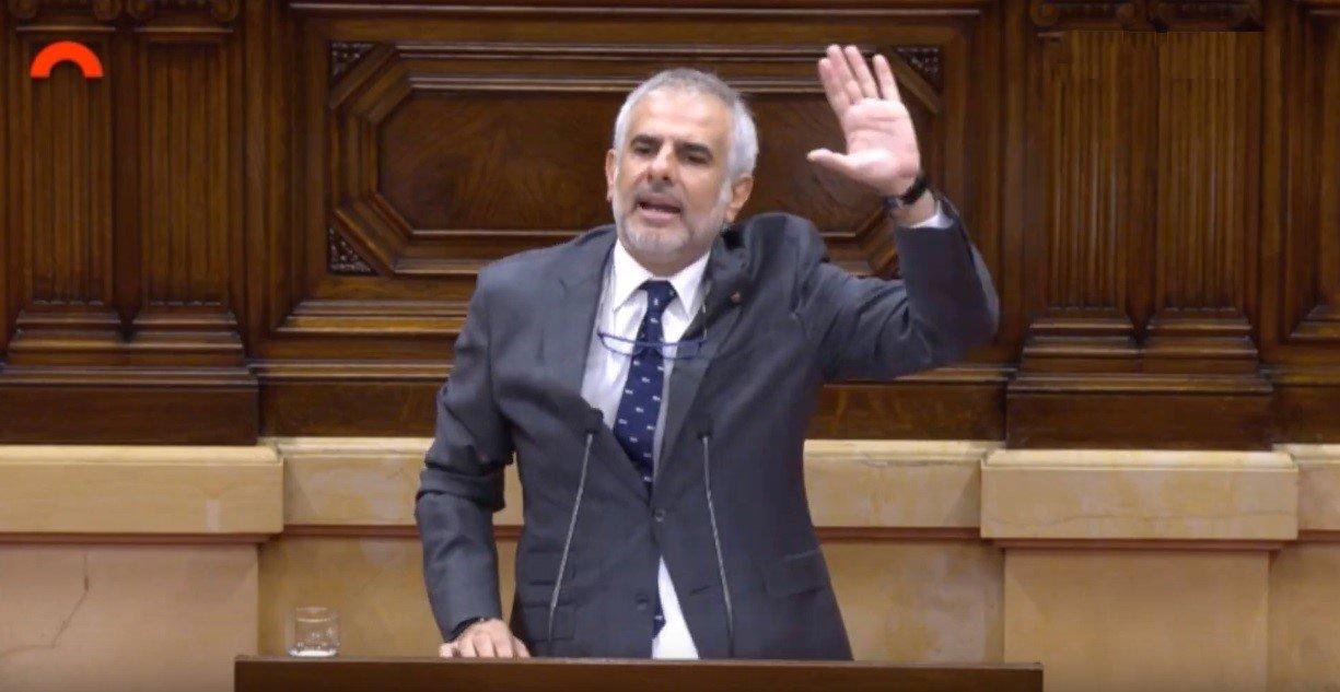 Carlos Carrizosa, portaveu parlamentari de Ciutadans