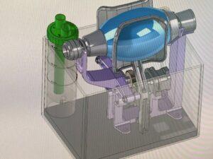 Respirador de campaña fabricado en 3D diseñado por Leitat