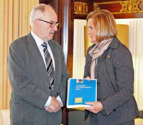 Ribó i De Gispert, al Parlament