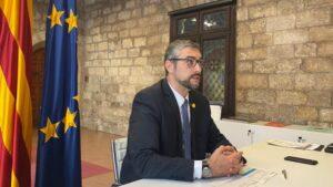 El conseller Bernat Solé