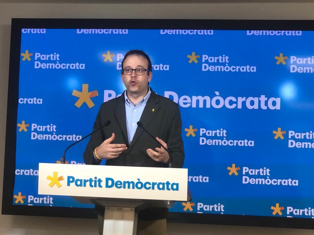Marc Solsona, portaveu del PDECat i alcalde de Mollerussa