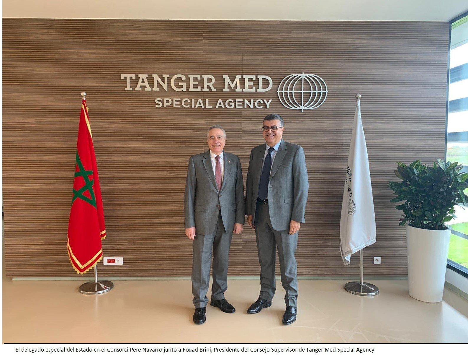 Pere Navarro i Fouad Brini