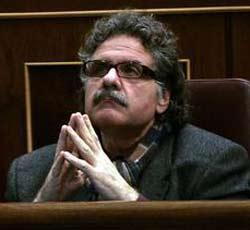 Joan Tardà, portaveu d'ERC al Congrés