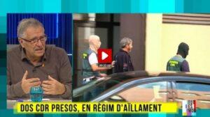 Entrevista en el 'Tot es mou' al tío de un CDR detenido el 23 de septiembre