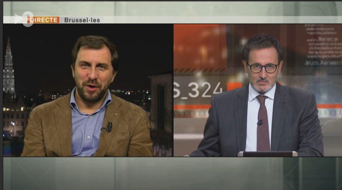 Toni Comín y Xavier Graset, en el programa 'Més 324' del 1 de octubre