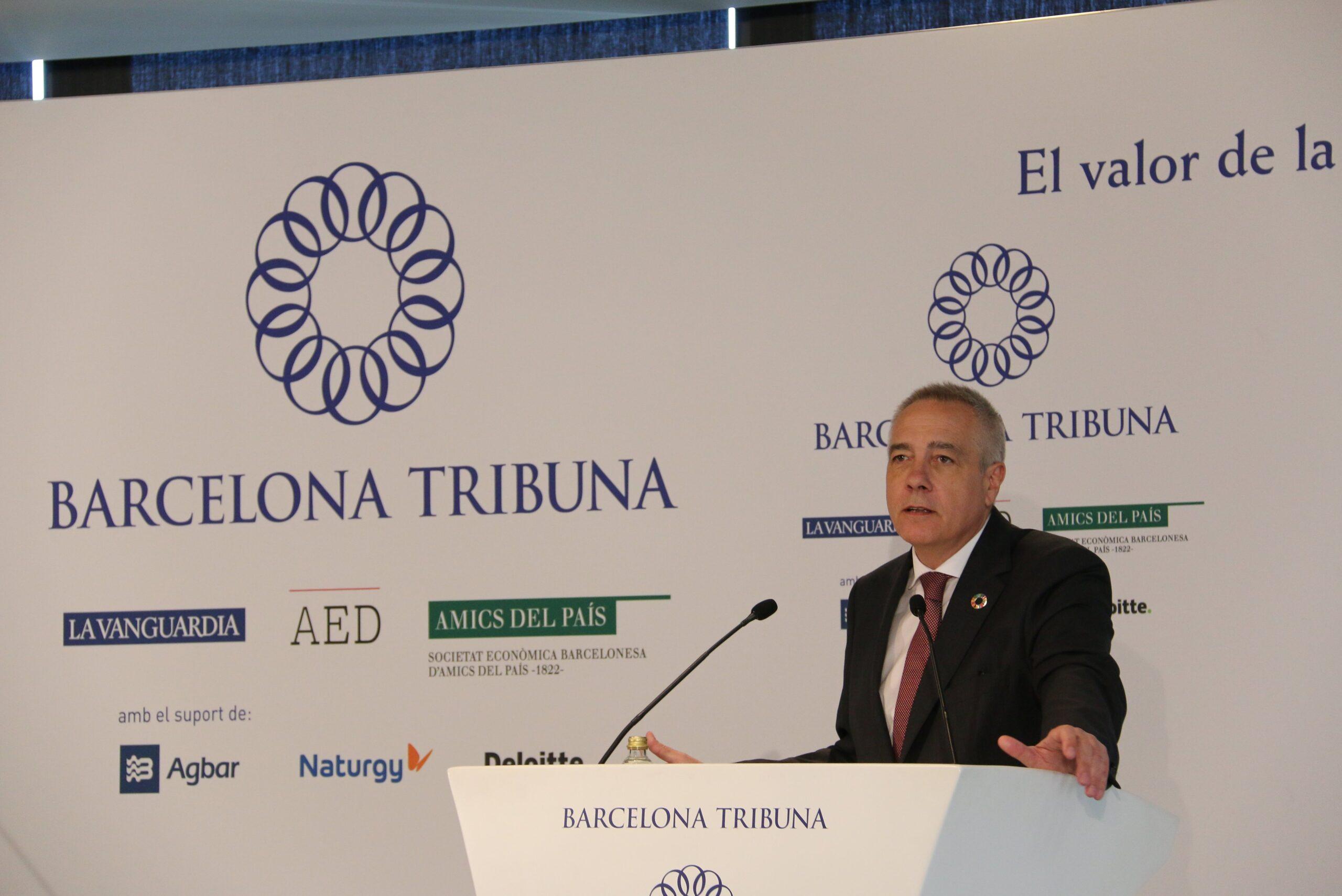 Pere Navarro, delegat especial de l'Estat en el Consorci de la Zona Fr