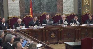 Manuel Marchena, durant la declaració de la funcionaria judicial