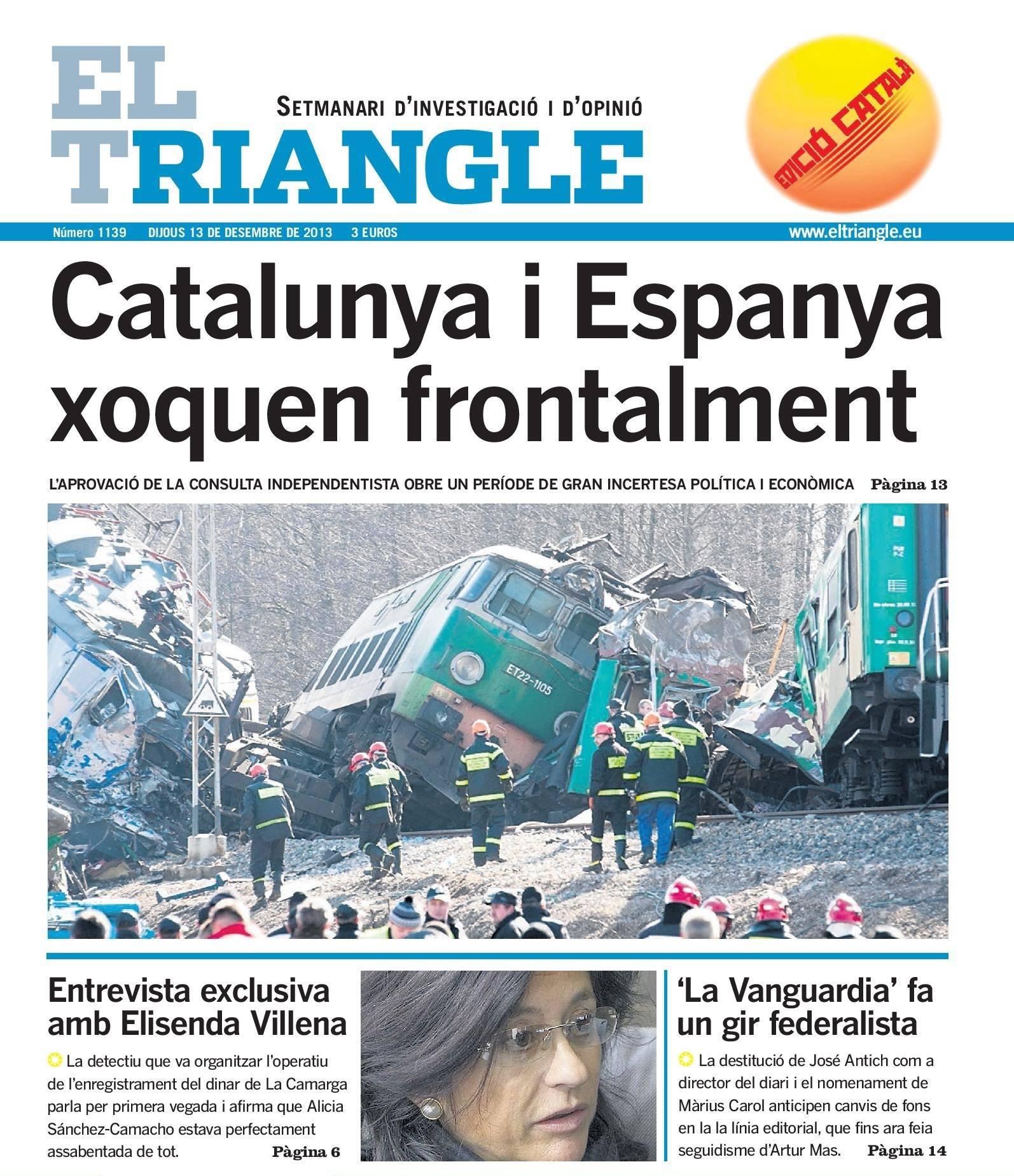 Portada El Triangle cat 13-12-2013