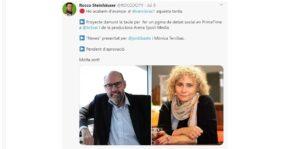 Tuit del 9 de julio en Versió RAC 1 anunciando el programa de Mònica