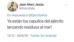 Twitter de Joan Marc Jesús