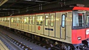 Un comboi del metro de Barcelona