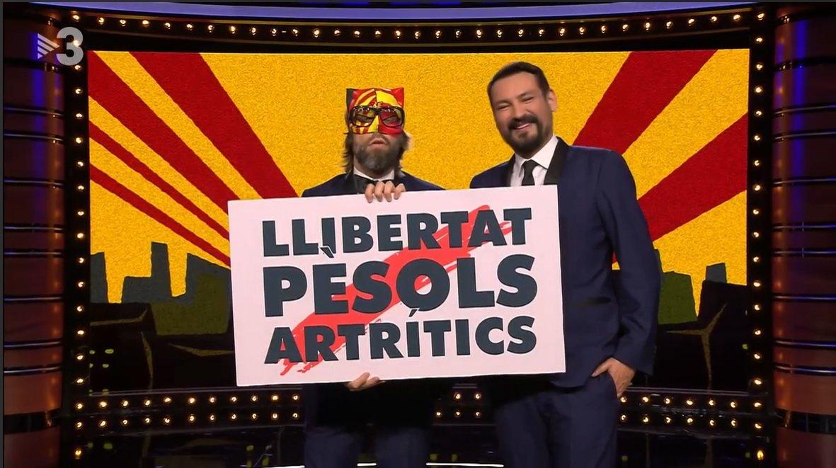 Uno de los últimos programas de 'La Nit dels Òscars', producido por Triacom