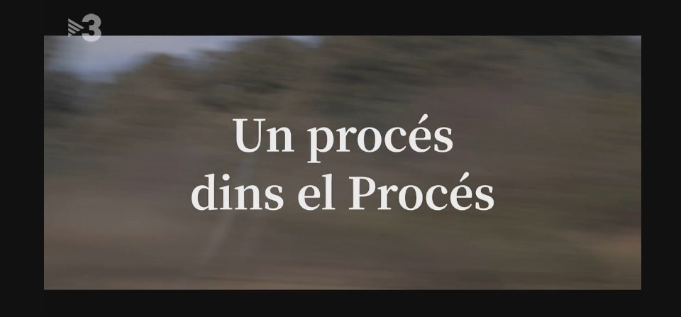 Caràtula de 'Un proceso dentro del Procés'