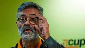 Carles Riera, diputat de la CUP
