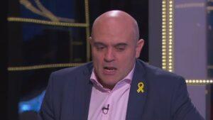 Xavier Vendrell, en TV3