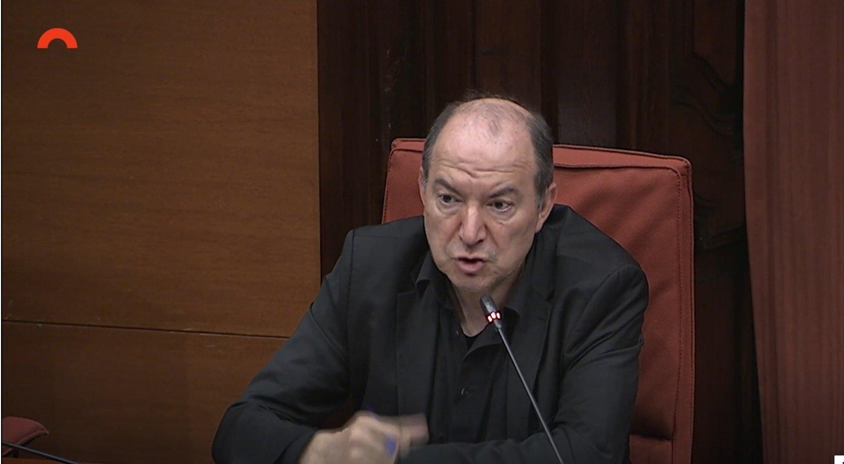 Vicent Sanchis, enojado en la Comisión de Control de la CCMA