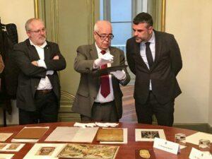 Santi Vila (derecha) y Lluís Puig (izquierda)