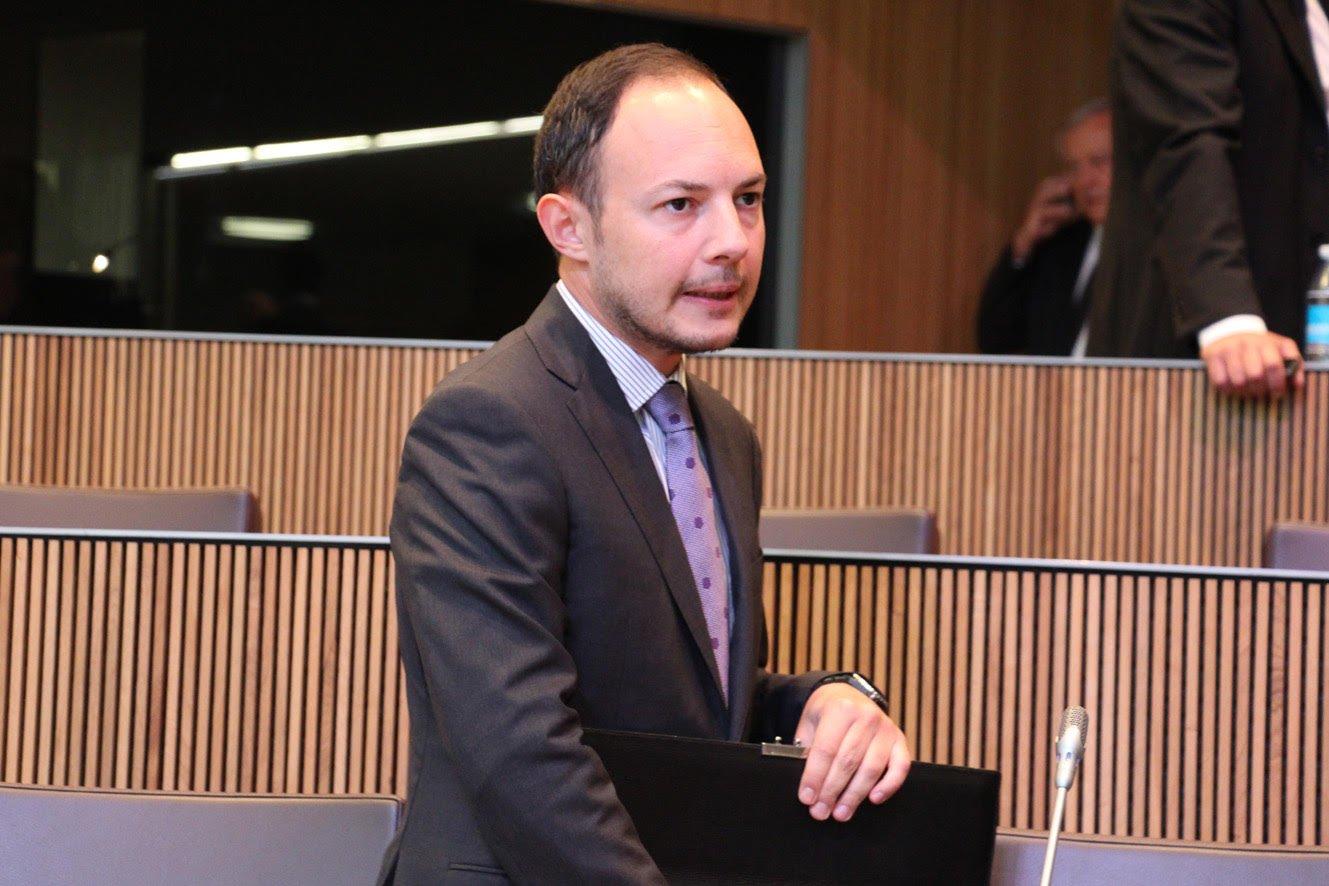 Xavier Espot, cap de govern d'Andorra