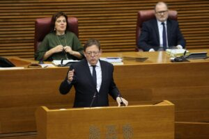 Ximo Puig, el presidente de la Comunidad Valenciana