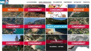 Estudi de Sos Costa Brava de les zones afectades pel nou Pla Director