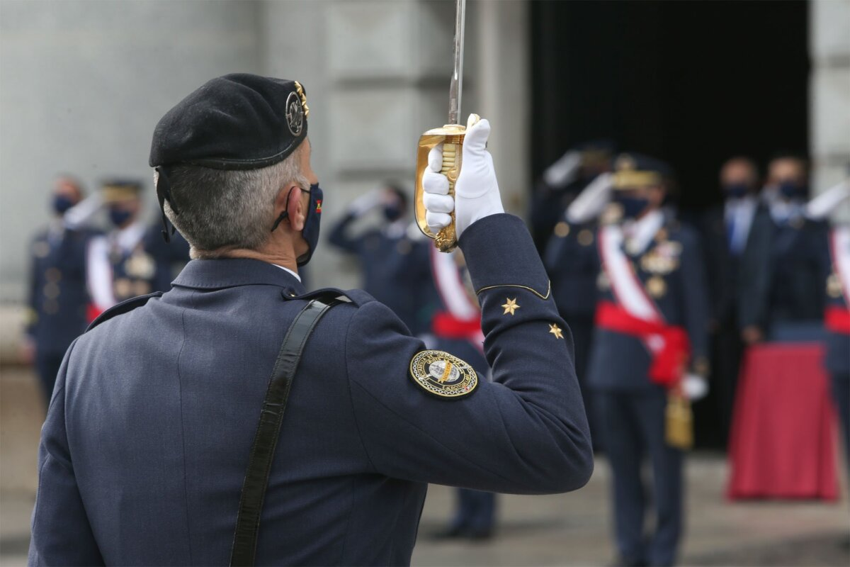 Militares en activo del Ejército del Aire