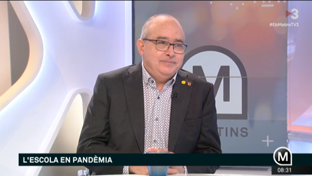 El consejero de Educación, Josep Bargalló