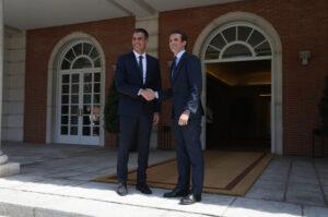 Pedro Sánchez i Pablo Casado