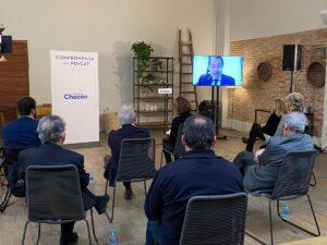 Artur Mas, en un acto del PDECat