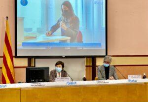 Argimon, presentant la campanya de vacunació contra la covid-19