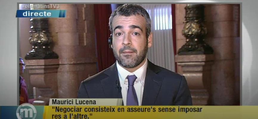 Maurici Lucena, en 2014