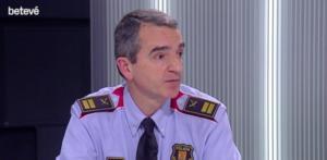 El comisario Joan Carles Molinero