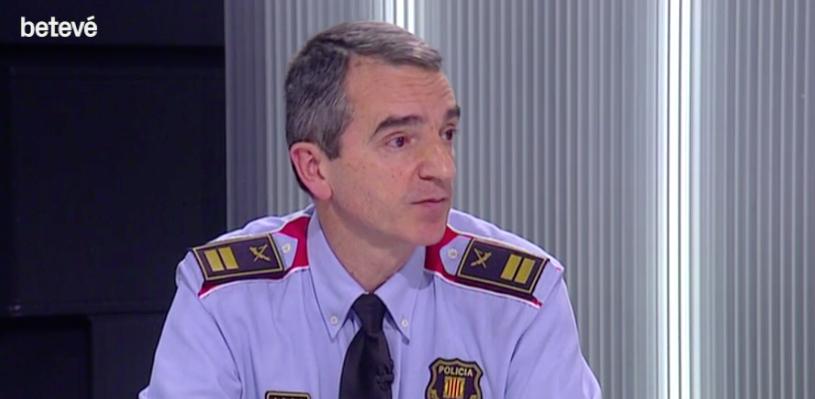 El comissari Joan Carles Molinero