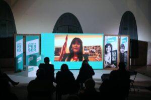 Acto de campaña de Laura Borràs