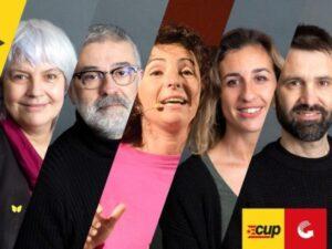 Imagen de campaña de la CUP
