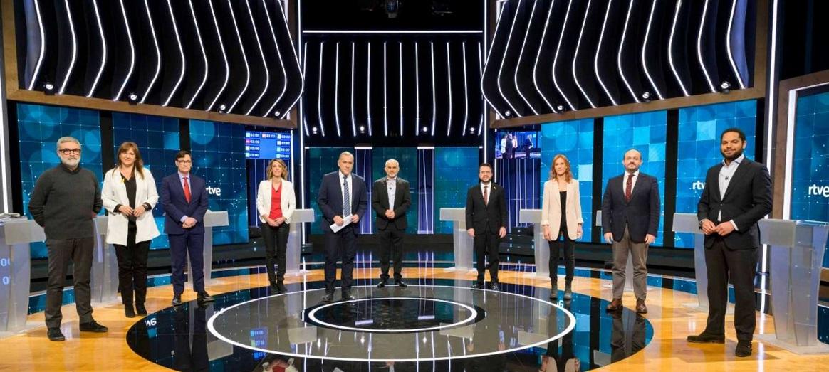 Els candidats, al debat de RTVE