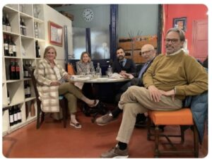 Ernest Benach, Joan Rigol, Núria de Gispert, Carme Forcadell i Roger Torrent