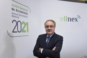El consejero delegado de Cellnex, Tobías Martínez