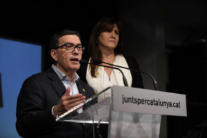 Jaume Alonso-Cuevillas i Laura Borràs