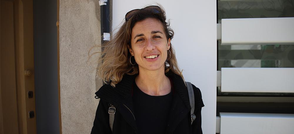 La diputada de la CUP, Laia Estrada